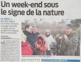 Lundi 2 avril - Un week-end sous le signe de la nature