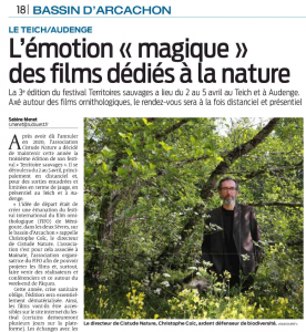 2021.03.31 SudOuestBassinArcachon Lmotion magique des films ddis  la nature p18 vignette
